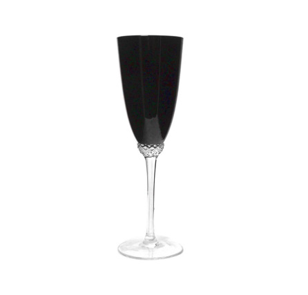 All Events Africa Black Champagne Flute