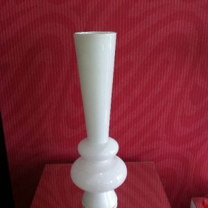 All Event Africa Chateau White Glass Vase 60cm