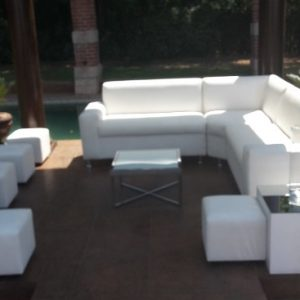 All events Africa Corner Couch Unit With 5 Ottomans