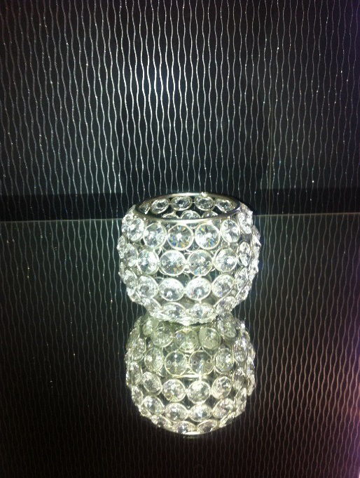All Event Africa Crystal Beaded Votive