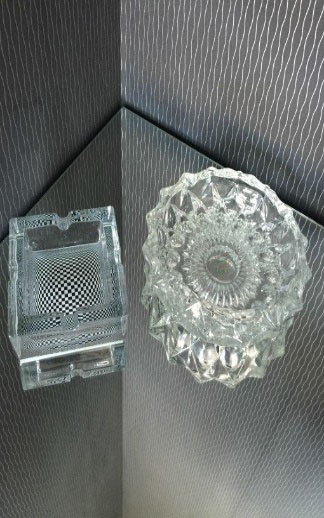 All Events Africa Crystal Cigar Prague Ashtrays Large