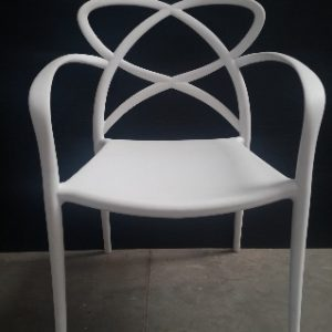 All events Africa Designer Plastic Chairs White Limited Stock