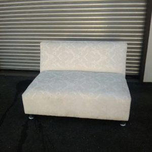 All events Africa Dramask White 2 Seater Couches
