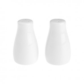All Events Africa Eetrite white Salt & Pepper shakers
