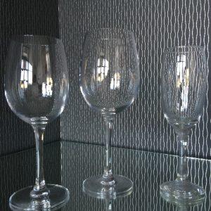 All Events Africa Fleur De LylRed wine glass