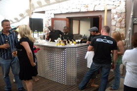 All Events Africa Galvanised Back Bar