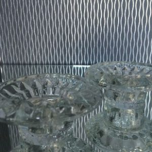 All Event Africa GLASS - Single Candle Holder