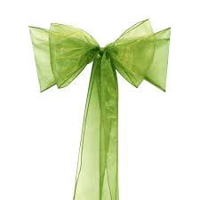 All Events Africa Organza Runners or tiebacks Olive Green