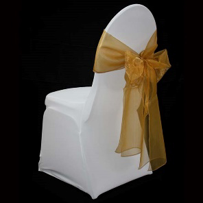 All Events Africa Organza runners or tiebacks gold
