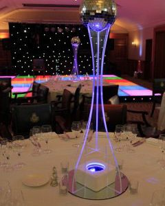 All Events Africa Perspex Centre Piece Stands (Ex Attachements)