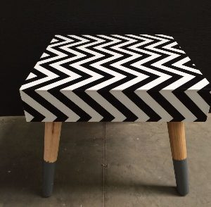 All events Africa Perspex Side Coffee Table