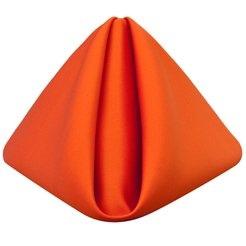 All Events Africa Plain Orange Serviettes