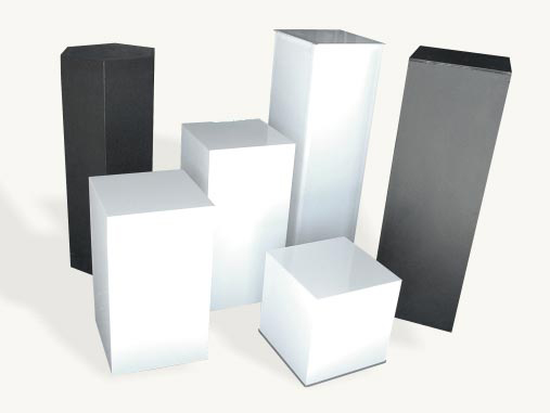 All Events Africa Plinths 400 - 500 x 500m - White