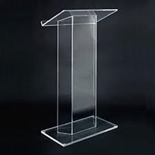 All Events Africa Podium Clear Perspex