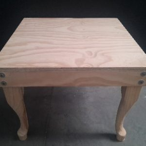 All events Africa Raw Wood Side Coffee Table