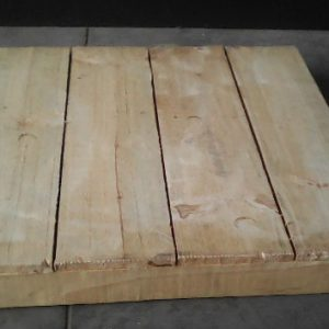 All events Africa Raw Wooden Pallet Centre Piece Box