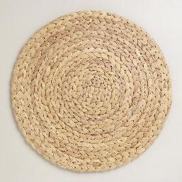 All Event Africa Round Grass Woven Place Mat