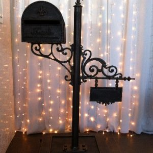 All Event Africa Rustic Bronze Postbox