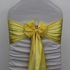 All Events Africa Satin Runners Or tie backs yellow