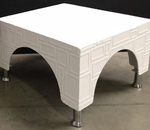 All events Africa Side Square Coffee Table