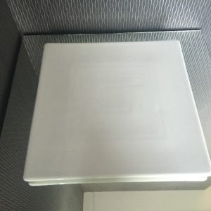 All Events Africa Platter Square 30cm-White