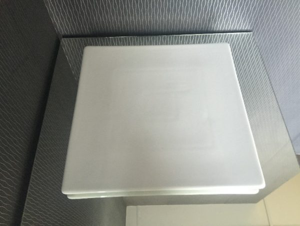All Events Africa Platter Square 35cm-White