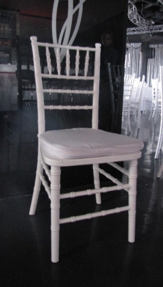 All events Africa Tiffany Chair white, gold or silver with cushion