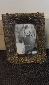 All Event Africa Victorian Frame - Gold