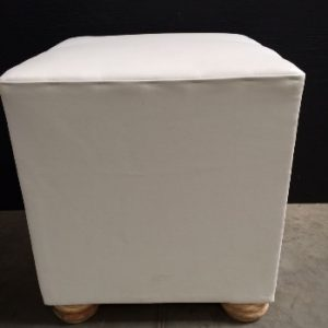 All events Africa Wooden Ffeet White Ottoman