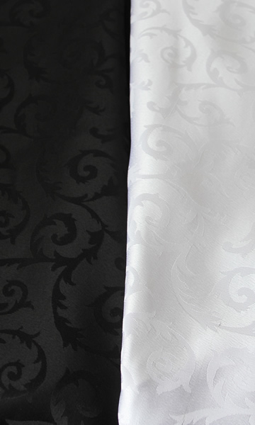 All Events Africa tablecloths trestle White Damask 3,2-x-3,2