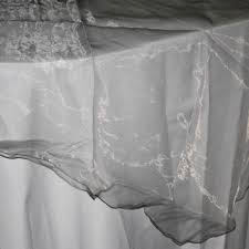 All Events Africa organza Overlays silver