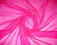 All Events Africa organza overlays 1,5 cerize pink