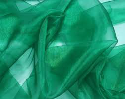 All Events Africa organza overlays Seagreen