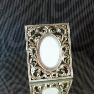 All Event Africa Paisley Frame - Silver