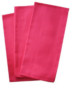 All Events Africa plain Pink Serviettes
